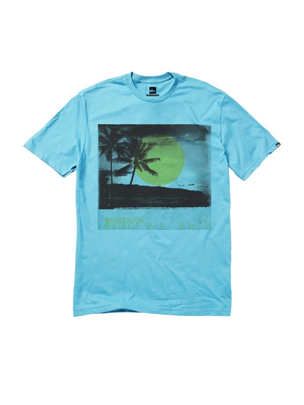 0 Way Back T-Shirt  AQYZT01422 Quiksilver