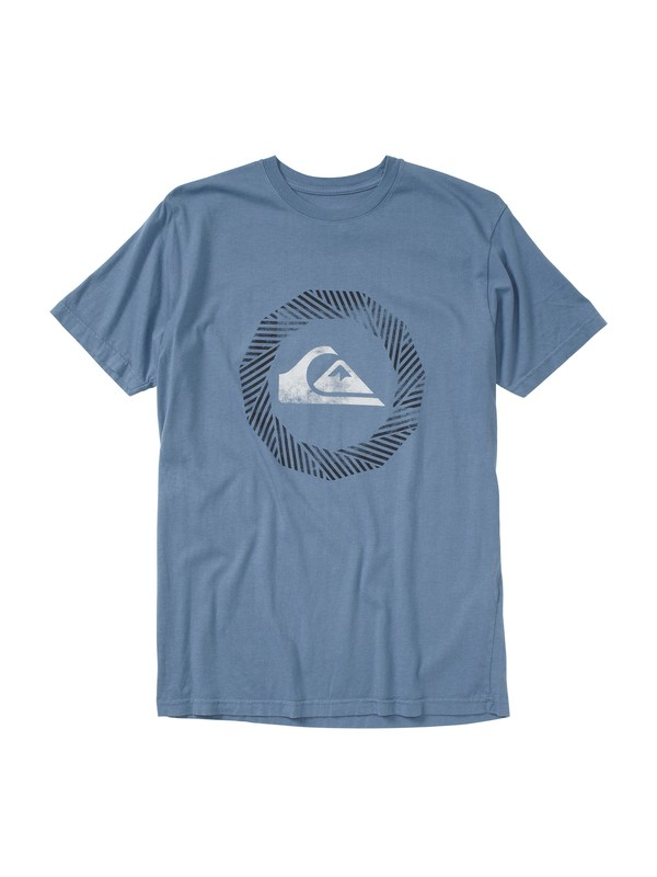 0 Burnout Slim Fit T-Shirt  AQYZT01428 Quiksilver