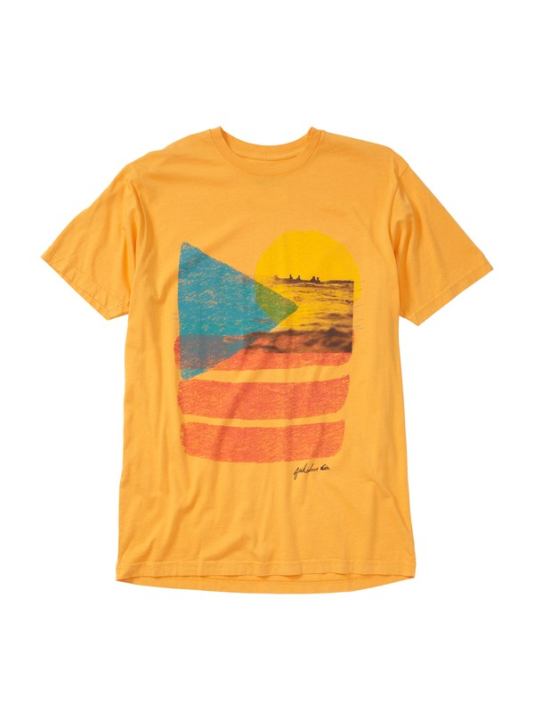 0 Abstraction Slim Fit T-Shirt  AQYZT01432 Quiksilver