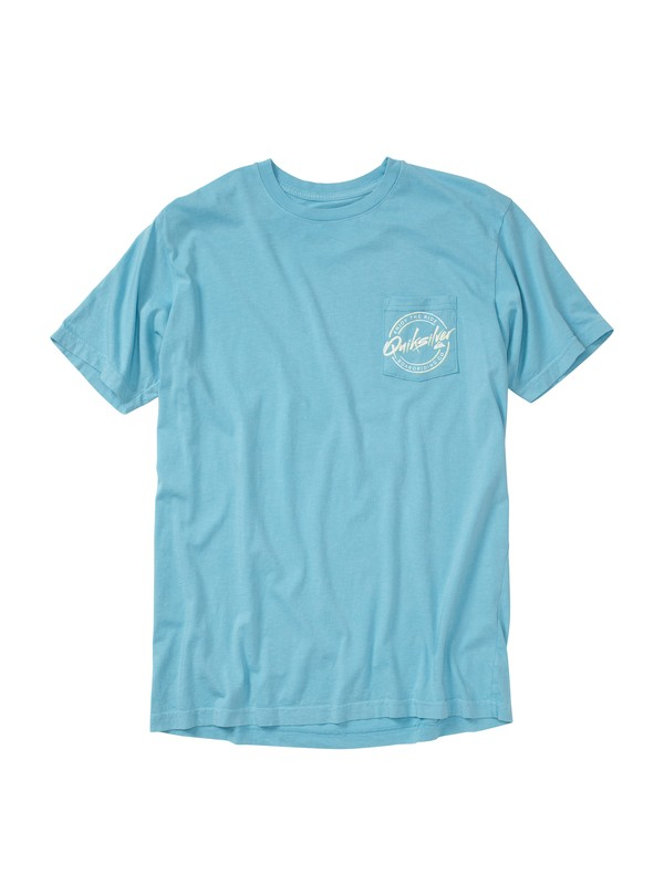 0 Flashback Slim Fit Pocket T-Shirt  AQYZT01439 Quiksilver