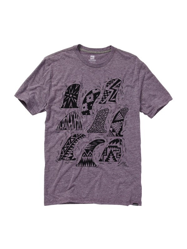 0 Fins First Slim Fit T-Shirt  AQYZT01457 Quiksilver