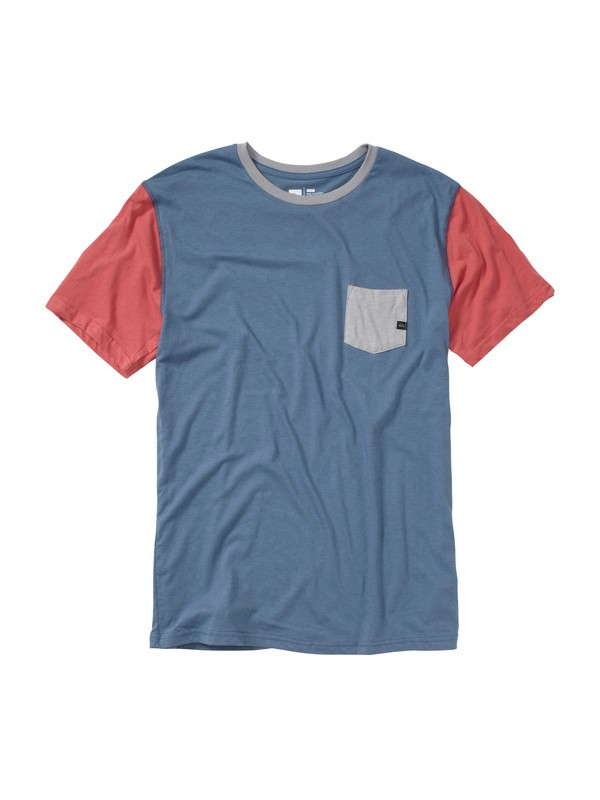 0 Rat Pack Slim Fit Pocket T-Shirt  AQYZT01469 Quiksilver