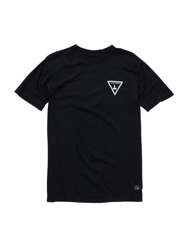 0 Slow Dance Black T-Shirt  AQYZT01560 Quiksilver