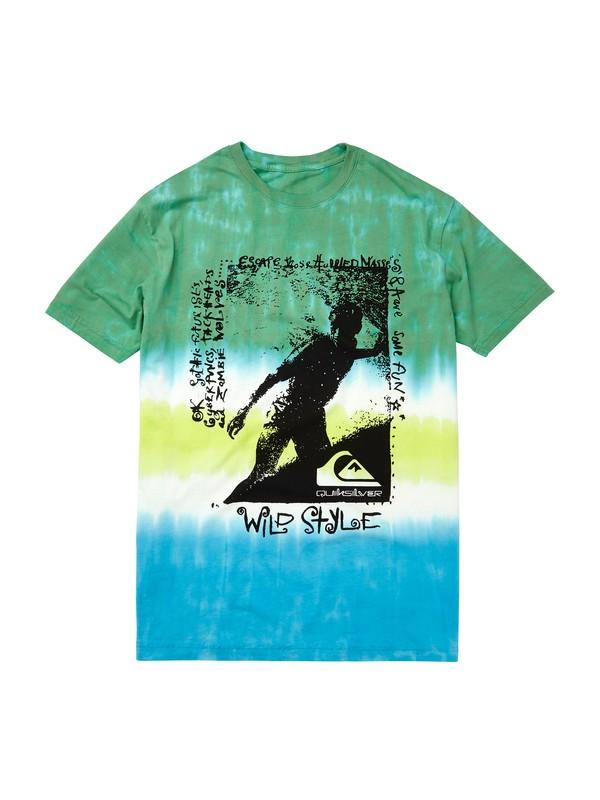 0 Wild Style Tie Dye Tshirt  AQYZT01862 Quiksilver
