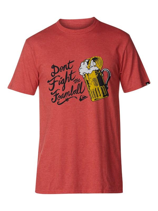 0 Foamball Slim Fit T-Shirt  AQYZT03042 Quiksilver