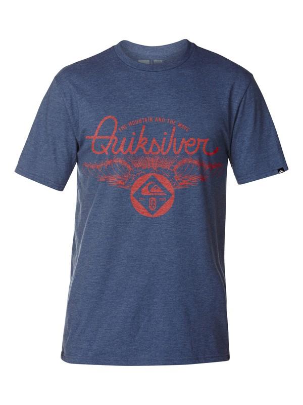 0 A Frames Slim Fit T-Shirt  AQYZT03043 Quiksilver
