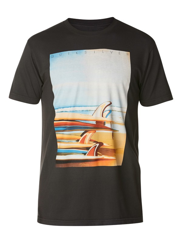0 Surf Stack Slim Fit T-Shirt  AQYZT03048 Quiksilver