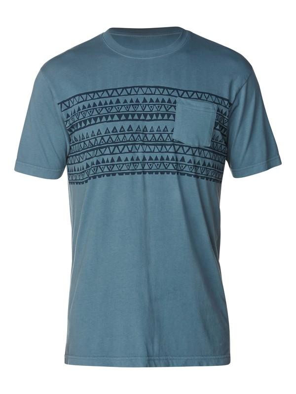 0 Original Stripe Slim Fit T-Shirt  AQYZT03060 Quiksilver