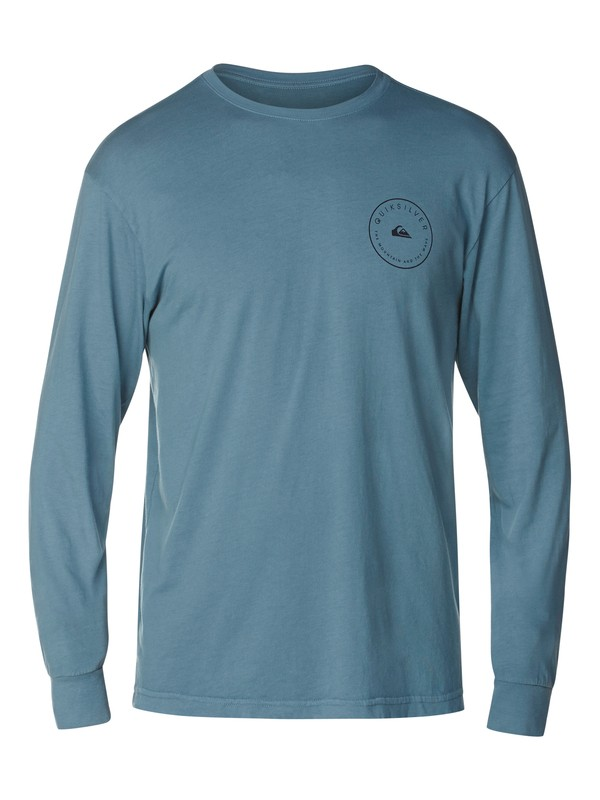 0 Talk To Much Slim Fit Long Sleeve T-Shirt  AQYZT03063 Quiksilver