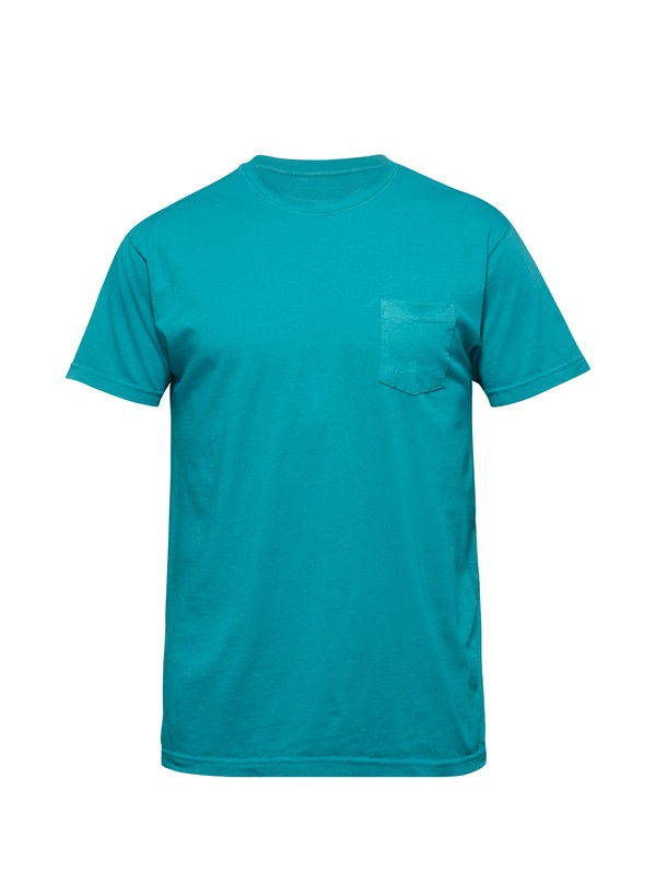 0 Everyday Pocket Slim Fit T-Shirt  AQYZT03095 Quiksilver
