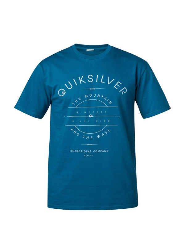 0 Simplistic Modern Fit T-Shirt  AQYZT03121 Quiksilver