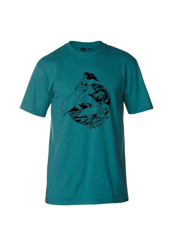 0 Dolphin Ride Modern Fit T-Shirt  AQYZT03125 Quiksilver