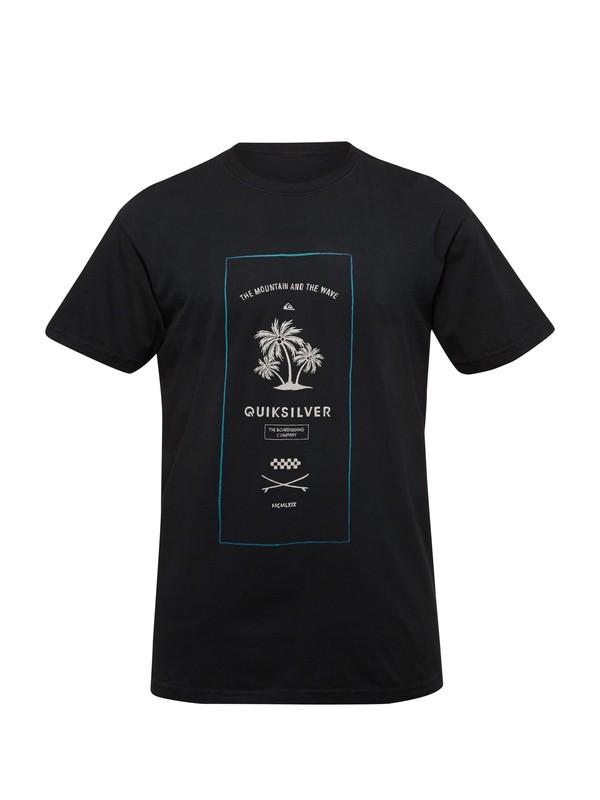 0 Plank Modern Fit T-Shirt  AQYZT03133 Quiksilver