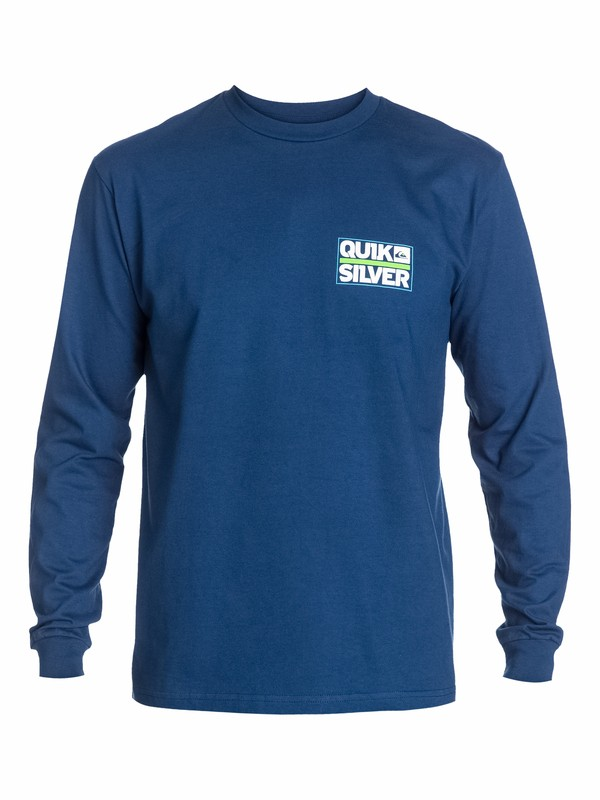 0 Castle Long Sleeve T-Shirt  AQYZT03150 Quiksilver