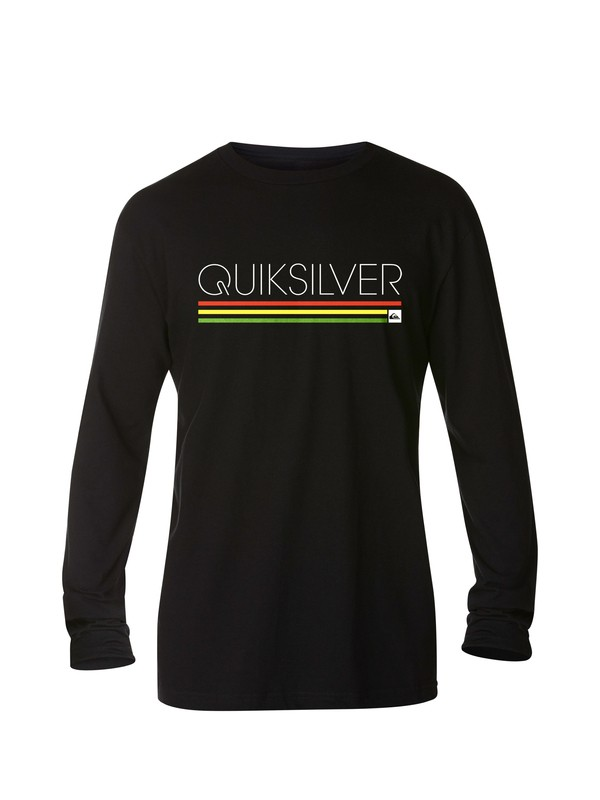 0 Slim Stack Long Sleeve T-Shirt  AQYZT03153 Quiksilver
