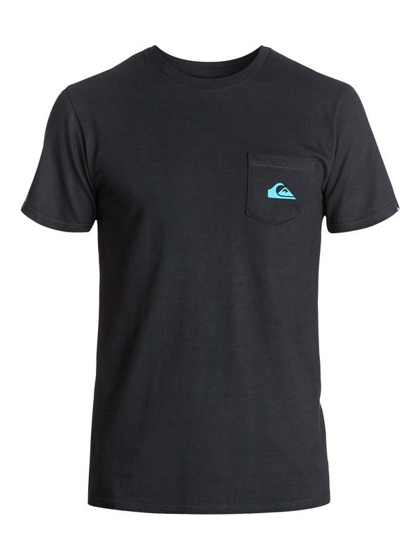 0 Everyday Pocket Logo T-Shirt  AQYZT03201 Quiksilver