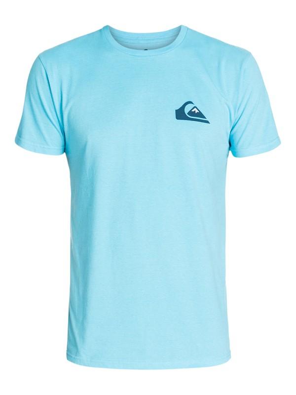 0 Mw Logo Modern Fit T-Shirt  AQYZT03204 Quiksilver