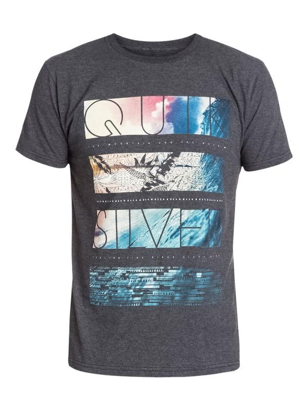 0 Stack City Modern Fit T-Shirt  AQYZT03211 Quiksilver