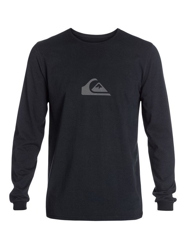 0 Logo Long Sleeve T-Shirt  AQYZT03215 Quiksilver