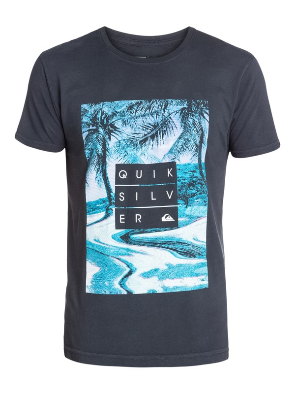 0 Hunter Modern Fit T-Shirt  AQYZT03222 Quiksilver