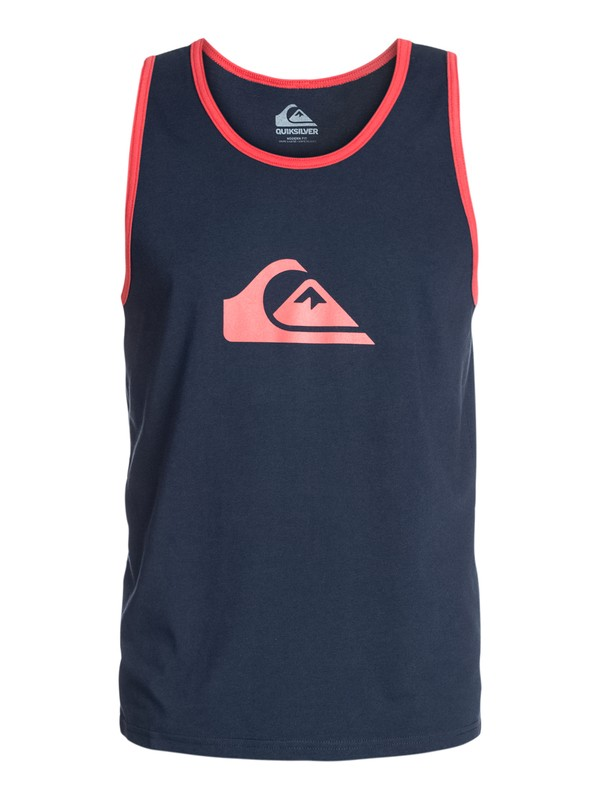 0 Mountain Wave Ringer Modern Fit Tank  AQYZT03239 Quiksilver