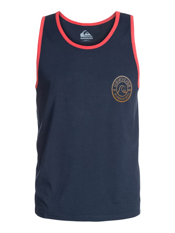 0 Faded Modern Fit Tank  AQYZT03241 Quiksilver