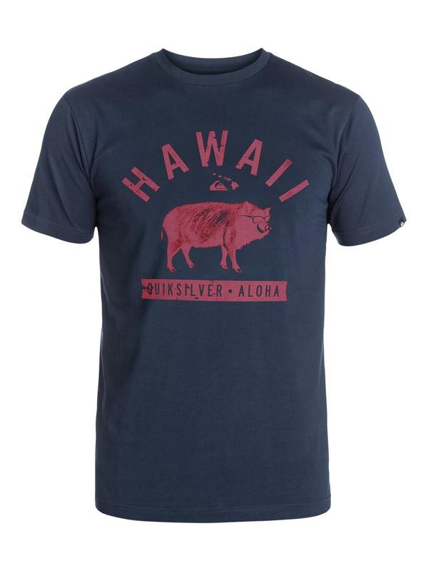 0 Boar Life T-Shirt  AQYZT03262 Quiksilver