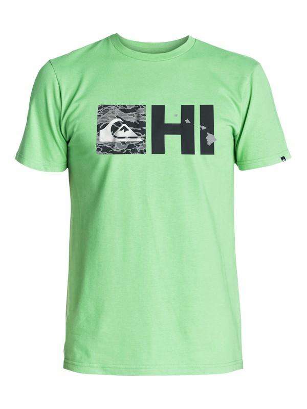 0 Hi Reflector T-Shirt  AQYZT03263 Quiksilver