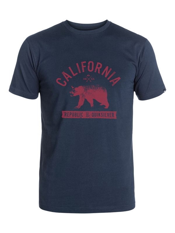 0 Bear Life T-Shirt  AQYZT03272 Quiksilver