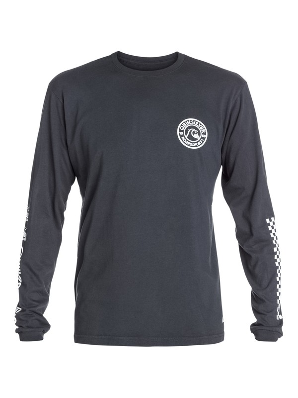 0 Original Long Sleeve Modern Fit T-Shirt  AQYZT03277 Quiksilver