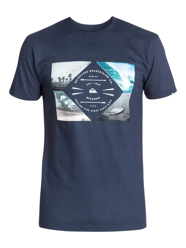 0 Cuatro T-Shirt  AQYZT03316 Quiksilver