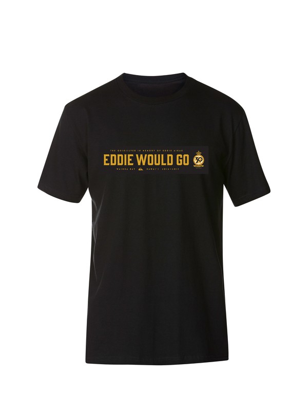 0 Eddie Would Go T-Shirt  AQYZT03340 Quiksilver