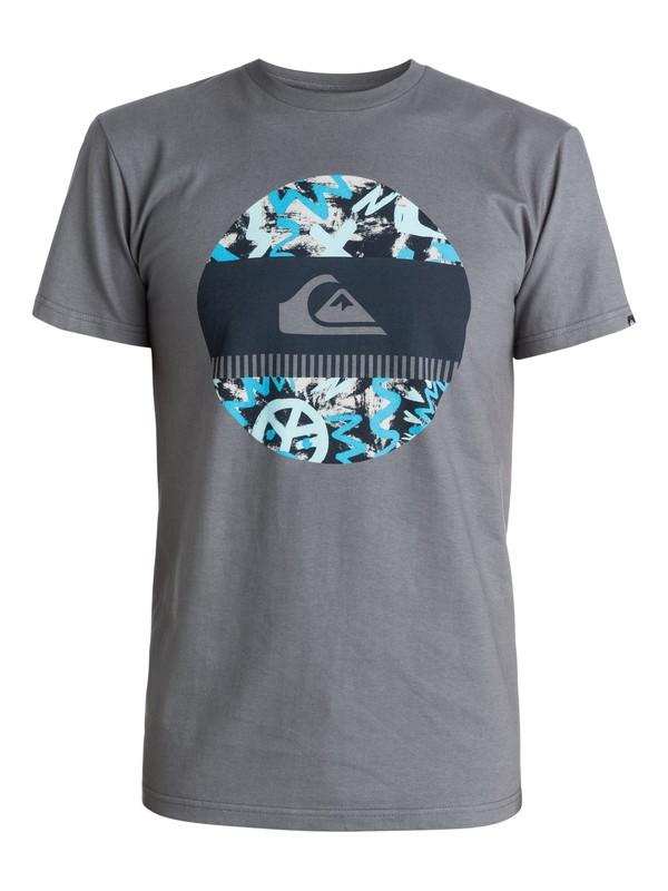0 Camiseta Disco Biscuit  AQYZT03416 Quiksilver