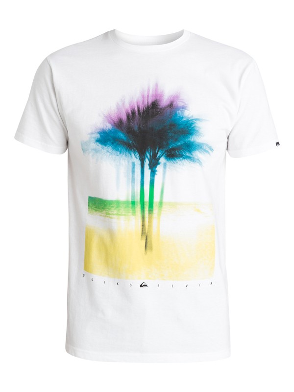 0 X Ray Palms Tee  AQYZT03427 Quiksilver