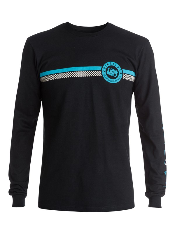 0 Finish Line Long Sleeve Tee  AQYZT03444 Quiksilver