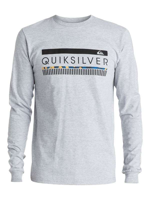 0 In The Zone Long Sleeve Tee  AQYZT03445 Quiksilver