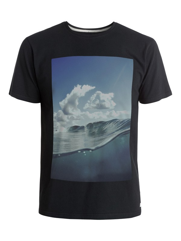 0 Cloud Watching Modern Fit  T-Shirt  AQYZT03691 Quiksilver