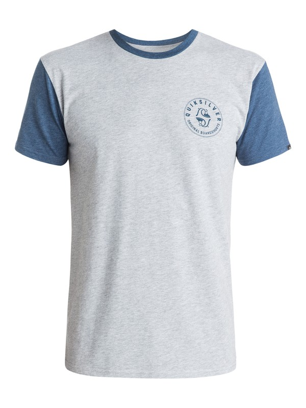 0 Hub Caps Modern Fit  T-Shirt  AQYZT03710 Quiksilver