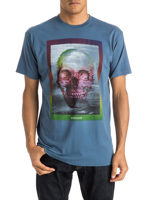 0 Skully Acid Modern Fit Tee  AQYZT03780 Quiksilver