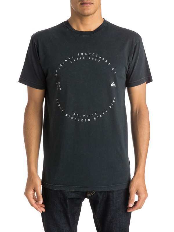 0 Acid Hole Modern Fit  Tee  AQYZT03787 Quiksilver