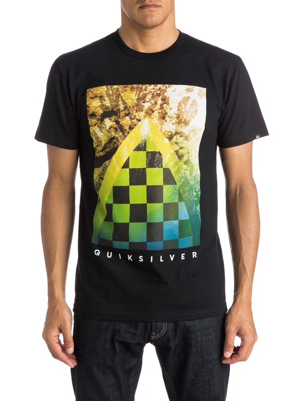 0 Checker Channel Tee  AQYZT03791 Quiksilver