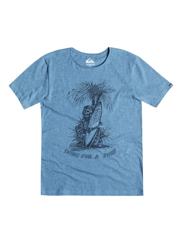 0 Dying For Surf Modern Fit Tee  AQYZT03812 Quiksilver