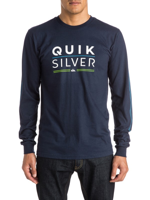 0 Fully Stacked Long Sleeve Tee  AQYZT03832 Quiksilver