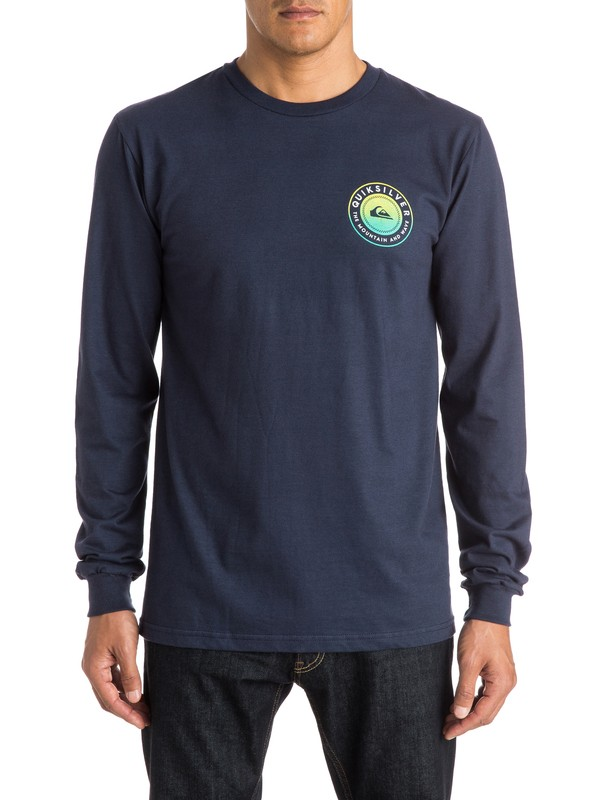 0 Check Me Out Long Sleeve Tee  AQYZT03833 Quiksilver
