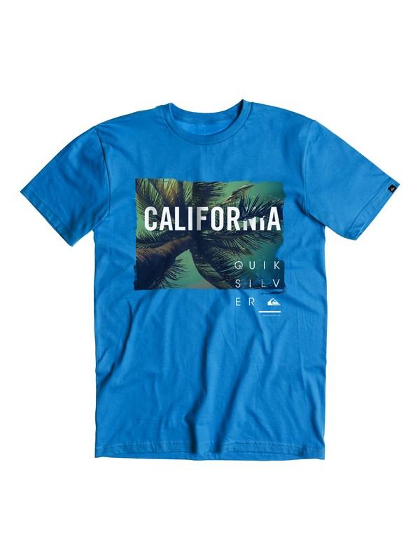 0 CA Palms T-Shirt  AQYZT03844 Quiksilver