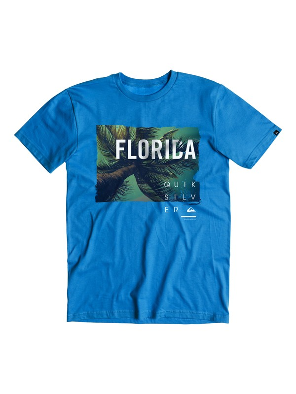 0 FL Palms T-Shirt  AQYZT03846 Quiksilver