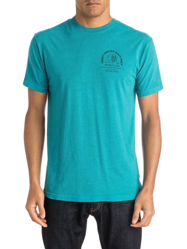 0 Thirsty Panther T-Shirt  AQYZT03983 Quiksilver