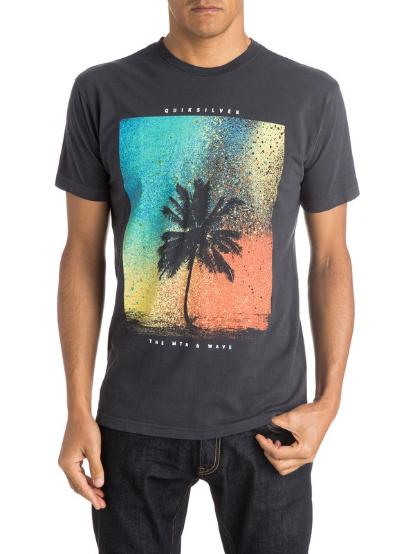 0 Spray Palm T-Shirt  AQYZT03984 Quiksilver