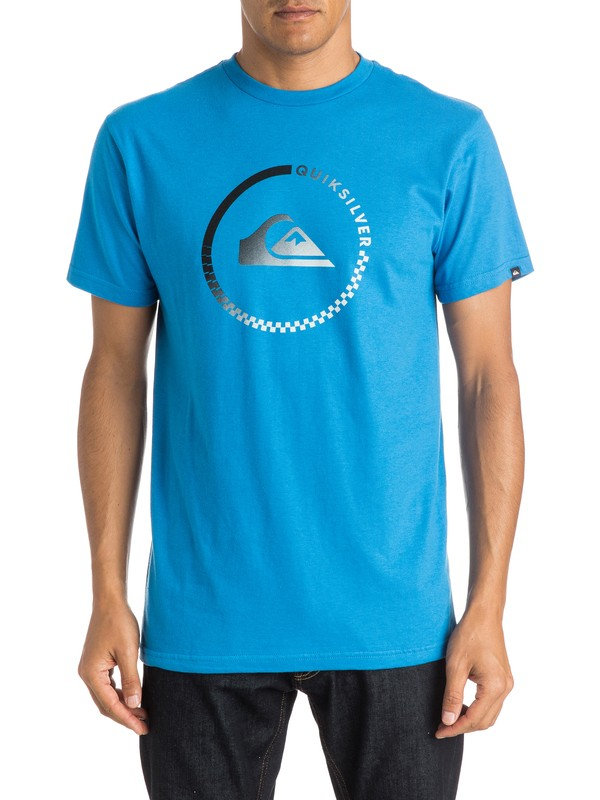 0 Active Check - T-Shirt  AQYZT03999 Quiksilver
