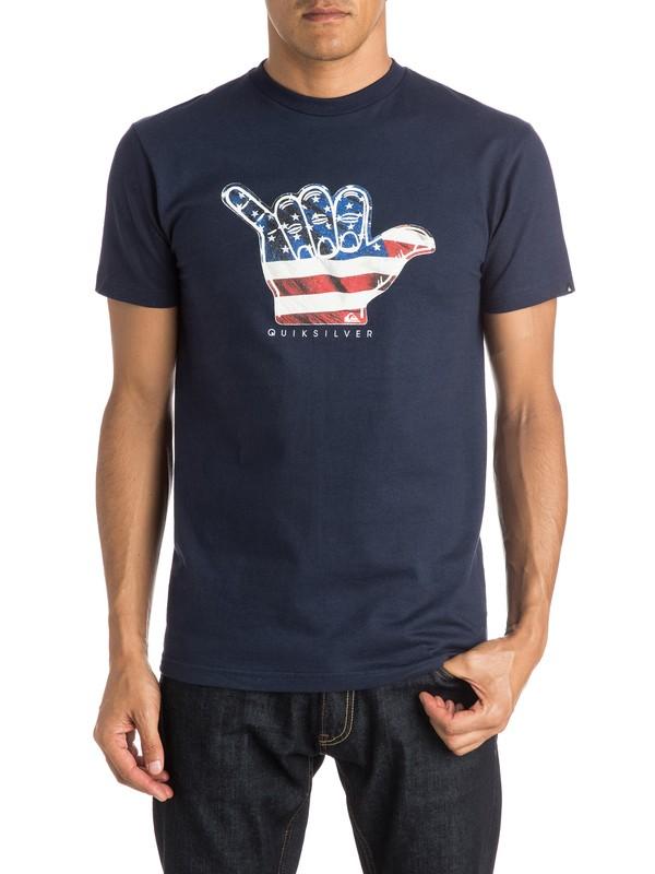 0 Brah USA T-Shirt  AQYZT04015 Quiksilver
